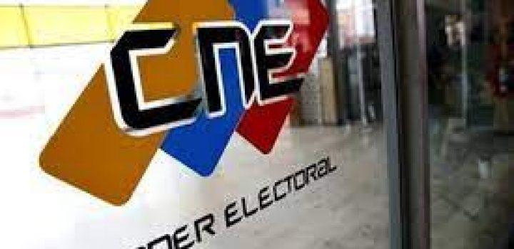 CNE anuncia elecciones conjuntas de gobernaciones, alcaldías y consejos legislativos
