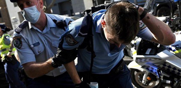Australia: al menos 250 detenidos en nuevas protestas contra las restricciones por el coronavirus