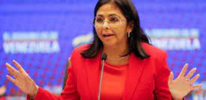 Delcy Rodríguez: Venezuela pasará a una expansión en la vacunación contra el covid-19
